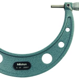 "Mitutoyo Outside Micrometer 5-6"" x .001"""