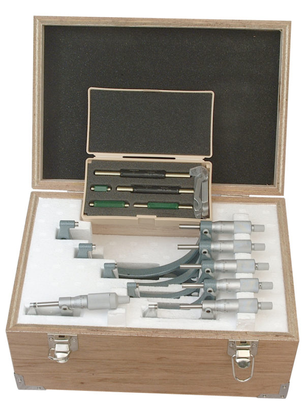 Mitutoyo Outside Micrometer Set 0-150mm (Individuals)
