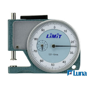 LiMiT POCKET THICKNESS GAUGE - 0-10 X 12MM**
