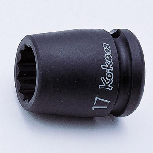 "14405M 12pt Impact Socket 1/2""Dr 17mm"