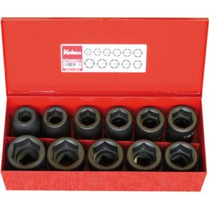 "16201A Impact Socket Set 3/4""Dr 11pc 3/4""-1.1/2"""
