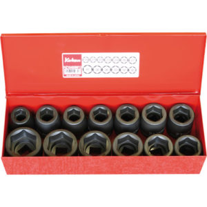 "16201M Impact Socket Set 3/4""Dr 13pc 19-41mm"
