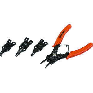 Tactix Pliers Circlip 4pc Set