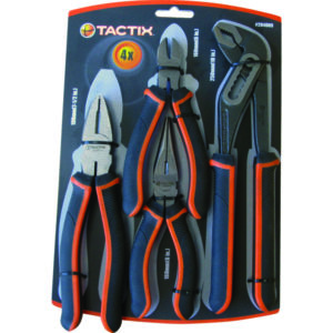 Tactix 4pc Plier Set