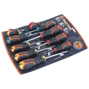 Tactix 10pc Screwdriver Set