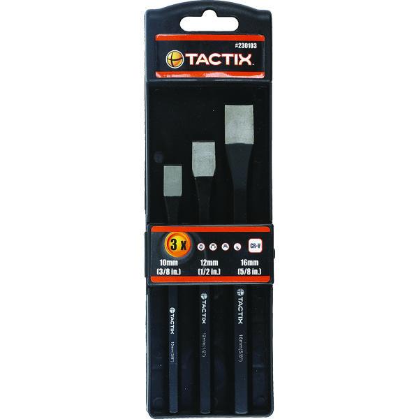 Tactix Cold Chisel 3pc Set