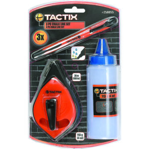 Tactix Chalk Line 3pc Set