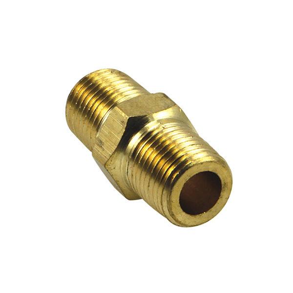 Champion 1/8in BSP Brass Hex Nipple - 2pk (BP)