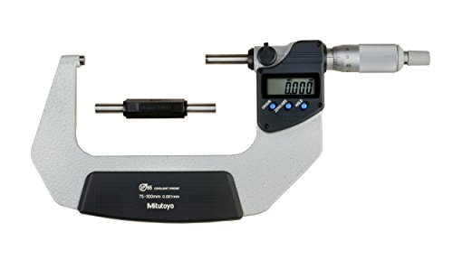 Mitutoyo Digimatic Micrometer 75-100mm IP65 Coolant Proof without Data Output