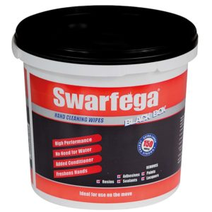 Swarfega Black Box Wipes 150 Per Bucket