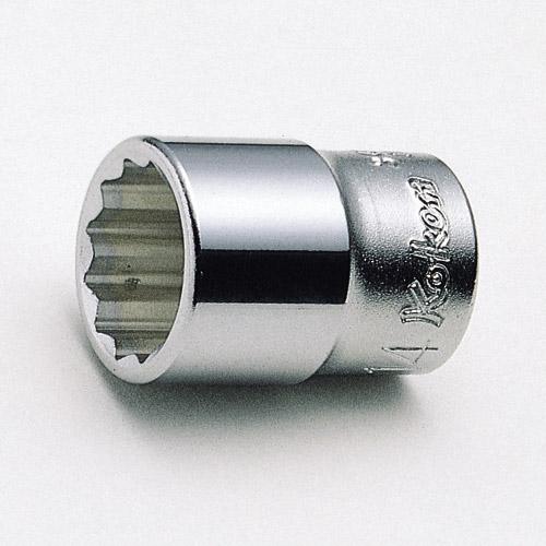 """3405M 12pt Socket 3/8""""Dr 22mm"""