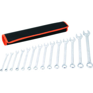 Tactix 14pc Combination Spanner Set - Metric