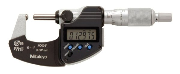 "Mitutoyo Digimatic Tube Micrometer 0 - 1""/25mm  (Sph/Sph)"