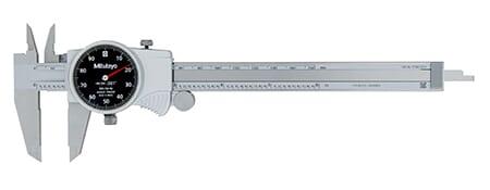 Mitutoyo 200mm x 0.01mm Dial Vernier Caliper