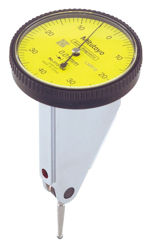 Mitutoyo Dial Test Indicator 0.8mm x 0.01mm Vertical Style Basic Set