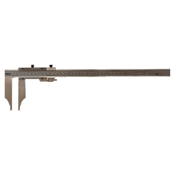 "Mitutoyo Long Jaw Vernier 20""/500mm x .001"" / 0.02mm with 200mm Jaws"
