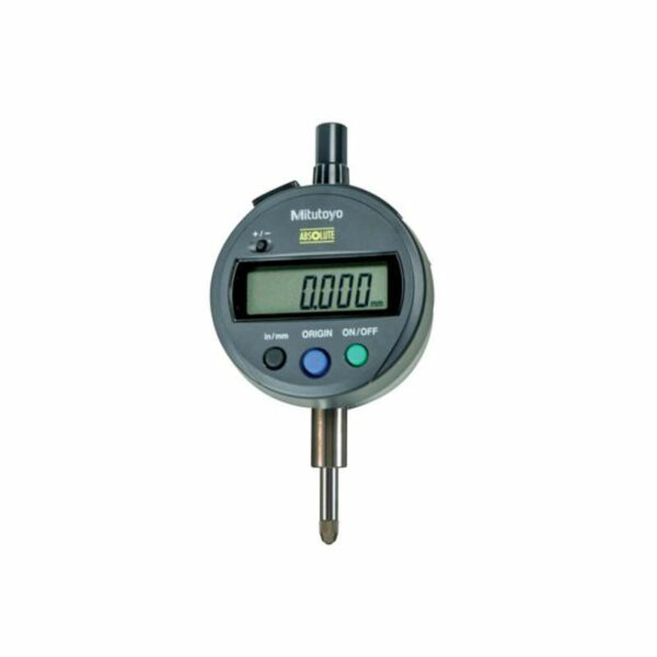"""Mitutoyo Digimatic Indicator ID-SX .500""""/12.7mm Standard Type with Flat Back"""