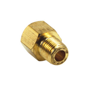 5/16X 1/8IN BSP BRASS INV. FLARE SINGLE UNION BODY