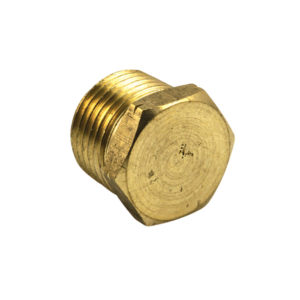 Champion 1/2in BSP Brass Hex Taper Plug (BP)