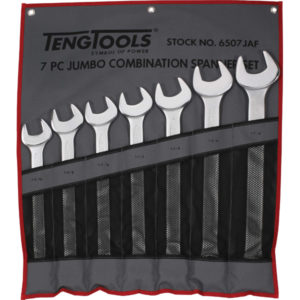 7PC ROE COMB. SPANNER SET IN WALLET