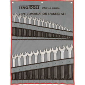 26PC ROE COMBINATION SPANNER SET (6-32MM)