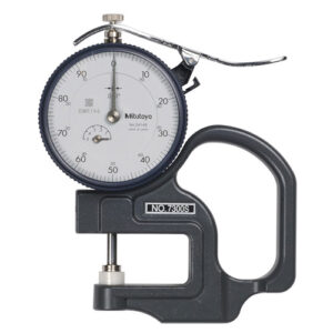 """Mitutoyo Dial Thickness Gauge .500"""" x .001"""""""