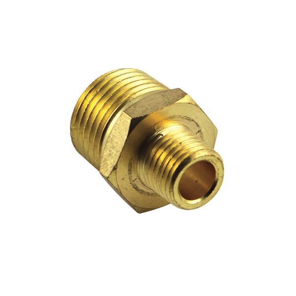 Brass 1/2in x 1/4in BSP Reducing Nipple