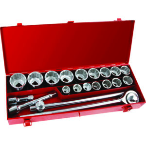 Tactix Onsite 21pc Socket Set 3/4in Dr SAE