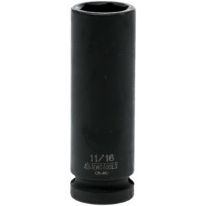 Teng 1/2in Dr. Deep Impact Socket 11/16in
