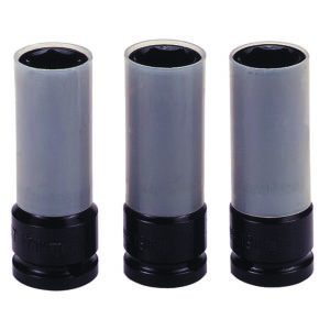 Teng 3pc 1/2in Dr. Impact Wheel Nut Socket Set