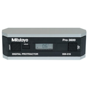 Mitutoyo PRO3600 Digimatic Protractor High Accuracy with Data Output