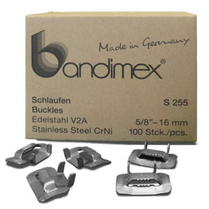 Bandimex S255 Buckles 5/8in (100pc)
