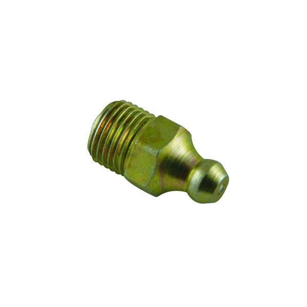 1/8IN BSP (GAS) STRAIGHT GREASE NIPPLE - 25PK