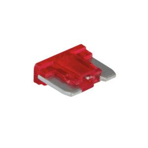 10AMP LOW PROFILE MINI BLADE FUSE (RED) - 15PK