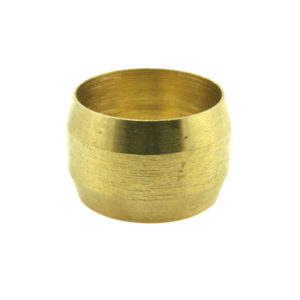 1/2IN BRASS COMPRESSION TYPE OLIVE - 20PK