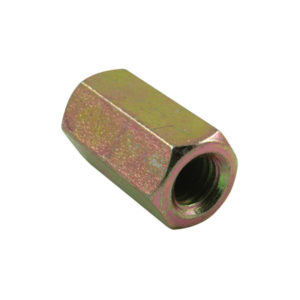 M8 X 25MM X 1.25 HEX COUPLER NUT - 10PK