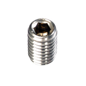 M5 X 10MM METRIC GRUB SCREW 316/A4 - 10PK