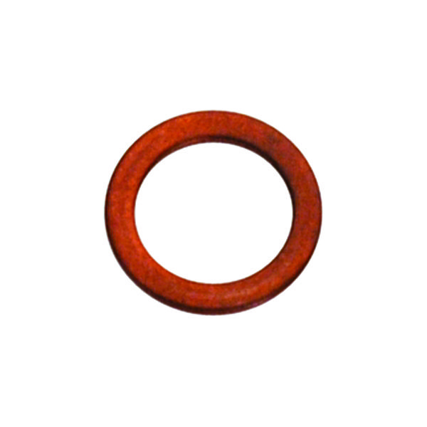 M8 X 14MM X 1.0MM COPPER RING WASHER - 25PK