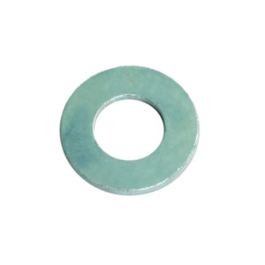 1/4IN FLAT STEEL WASHER (Zn) - 25PK