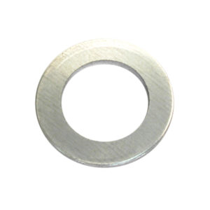 1IN X 1-1/2IN X 1/32IN (22G) STEEL SPACING WASHER