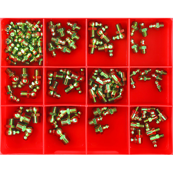 105PC METRIC GREASE NIPPLE ASSORTMENT