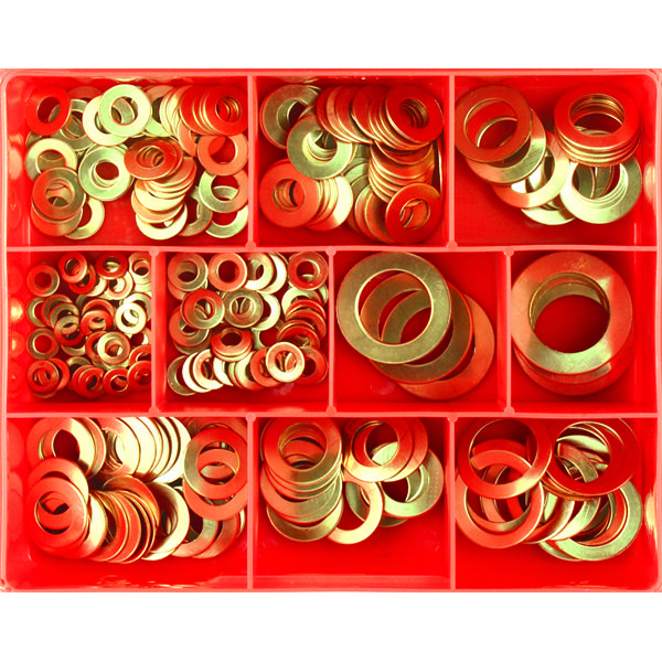 260PC METRIC COPPER WASHER ASSORTMENT