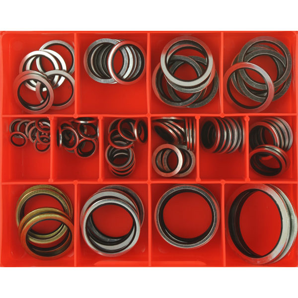91PC METRIC BONDED SEAL WASHER ASSORTMENT