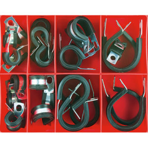 28PC PIPE SUPPORT ANCHOR ASSORTMENT