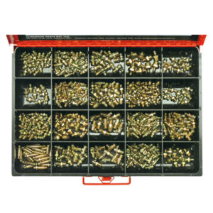 415PC METRIC & IMPERIAL GREASE NIPPLE ASSORTMENT