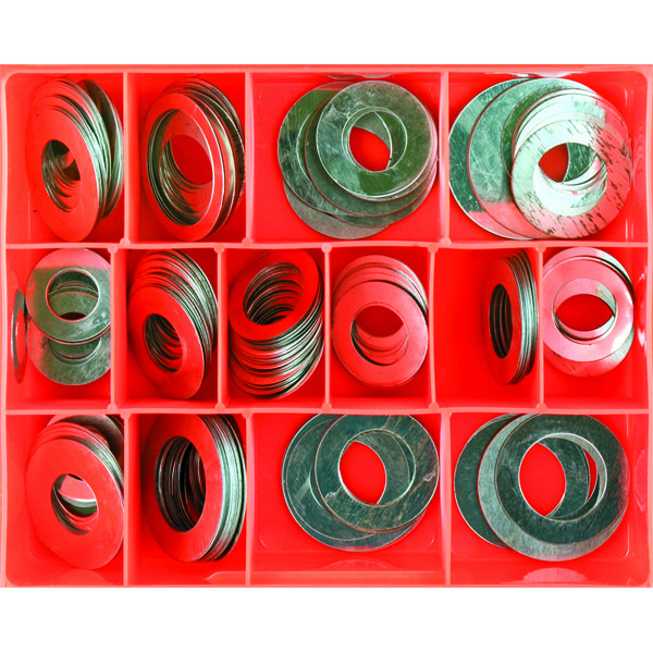 276PC .006IN STEEL SHIM WASHER ASSORTMENT