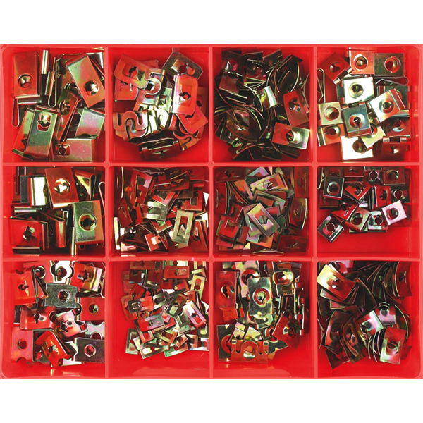 390PC AUTO SPEED NUT ASSORTMENT