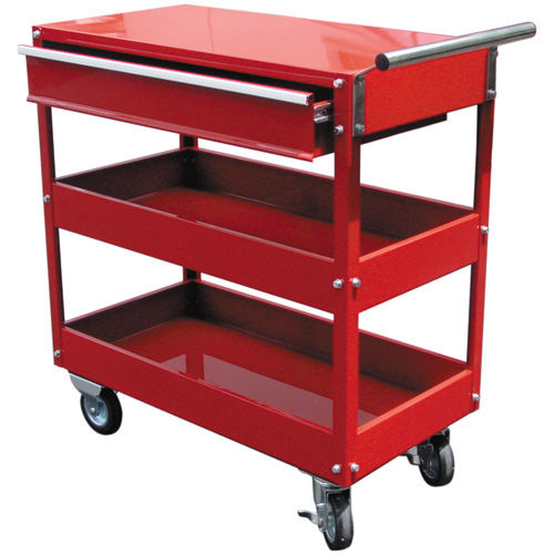 TC301-II 3 Tier Tool Cart with Drawer 737W x 383D x 970H