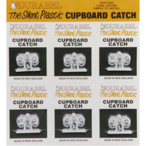 Cupboard Catch Set (Individually barcoded with Screws) 6 per Card