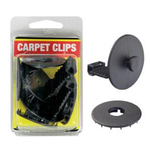 CARPET CLIPS - SET OF 2 (BLACK)